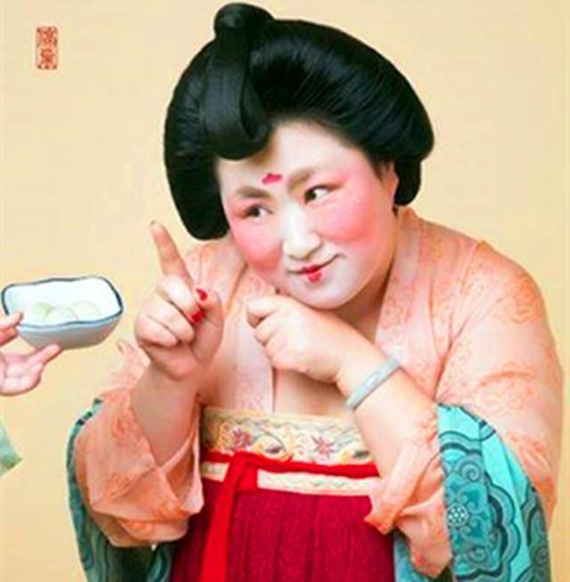 唐代仕女吃元宵复活图走红网络,历史上的唐朝真是以胖图片
