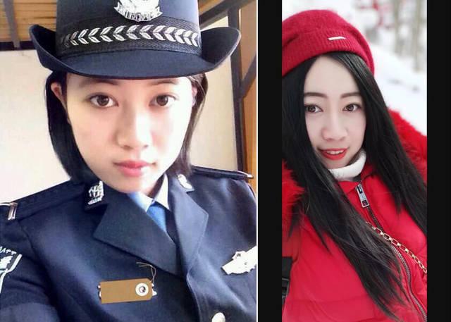 淫荡女警花_图为安徽黄山基层女警花的警服和生活照.