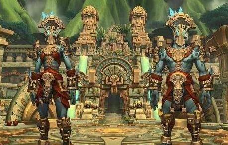 魔兽世界:8.0资料片赞达拉巨魔5种德鲁伊形态!远古神兽来袭!