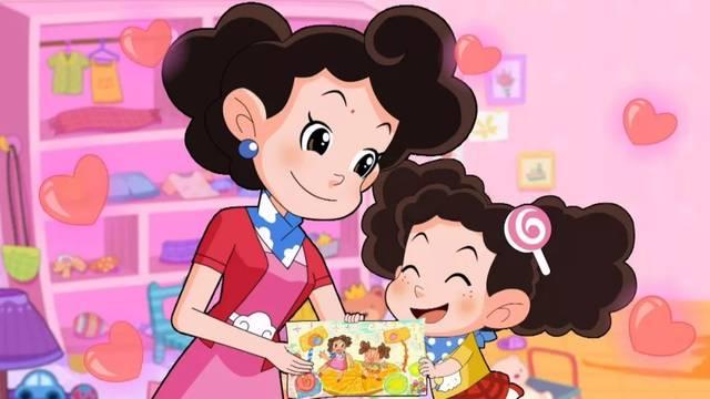 棉花糖和云朵妈妈_看完棉花糖对云朵妈妈说的话, 小朋友们有什么话想对自己的妈妈说吗?