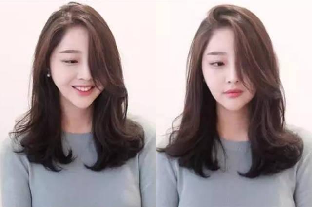 2018年流行的烫发发型,中长发烫发美得恰到好处