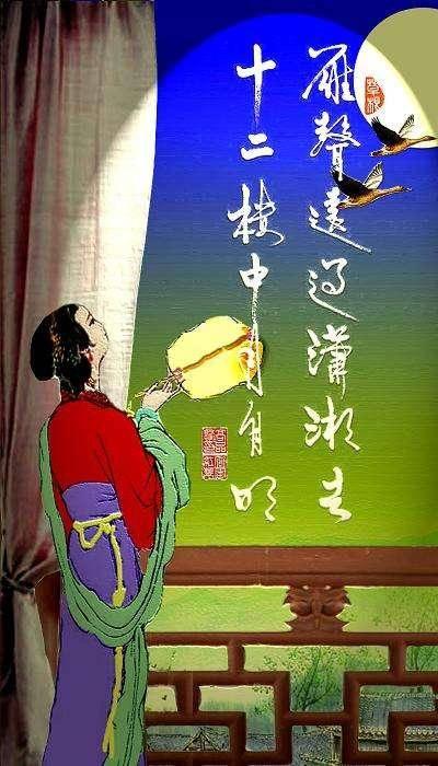 唐诗三百首最具特色的七绝古诗,全是景物描写却写出无限闺怨