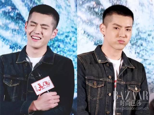 陈晓也是经常变换发型的人,不过剪寸头常常是为了拍古装戏.图片