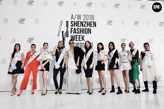 2018年深圳时装周:国际时尚达人唐拉拉带领世界超模现身,轰动全场