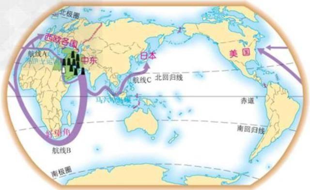 霍尔木兹海峡直接锁住中东石油最多的沙特,科威特,卡塔尔,伊拉克等图片