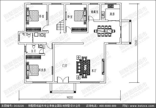 我想盖房子农村房子设计图还有建筑图纸