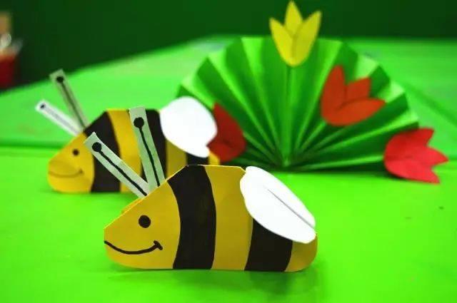 【亲子手工】12款勤劳的小蜜蜂,亲子课不可错过哦!老师家长收藏!