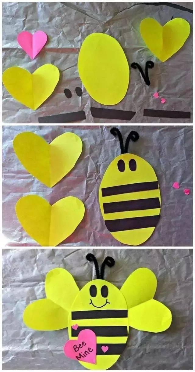 幼儿园创意手工——适合在春天做的手工,简单有趣好看