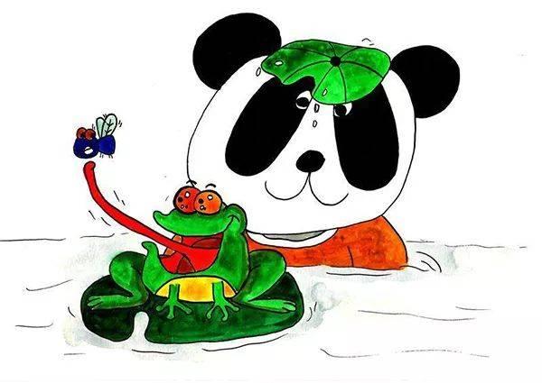 成都一小学生手绘72幅熊猫漫画,为了让更多人了解家乡的方言 | 深呼吸