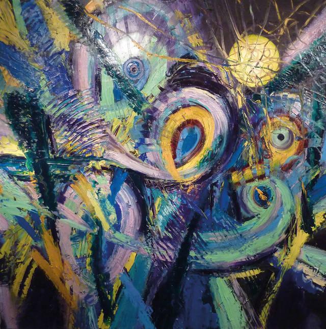 与德国抽象派画家shahin浅聊德国绘画艺术