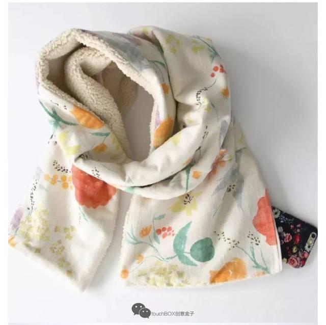 diy的小围巾就很实用啦 超可爱又保暖 春天郊游带着娃尽情凹造型吧 四图片