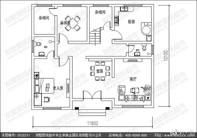 自建房设计_经典三层带露台复式楼自建房设计效果图图片