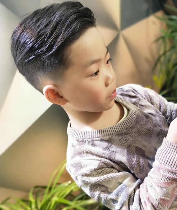 潮流范儿童发型盘点 小男孩这样剪太帅了
