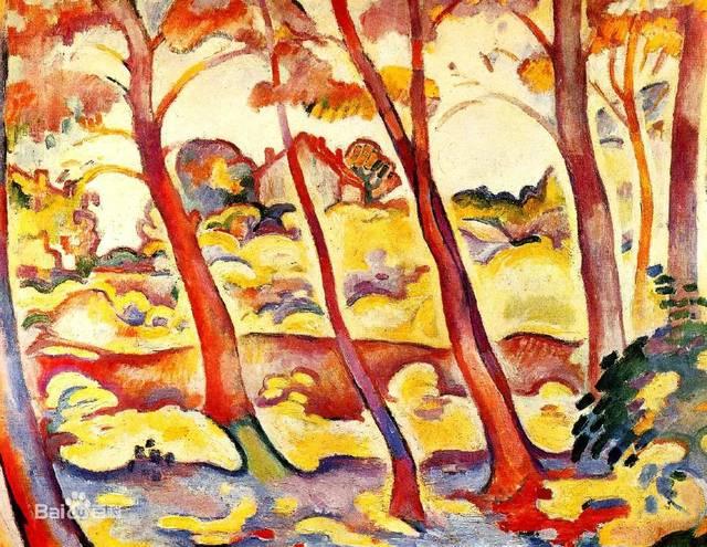 小央美儿童美术:布拉克,法国画家,立体主义这一名称还是由他而来