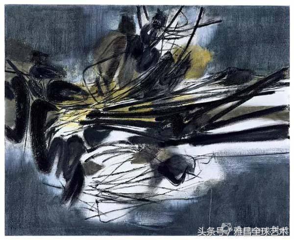 大胆人体艺术写真189_lot 189 周春芽 《躺着的人体,黑色的石头》 149.2×119.