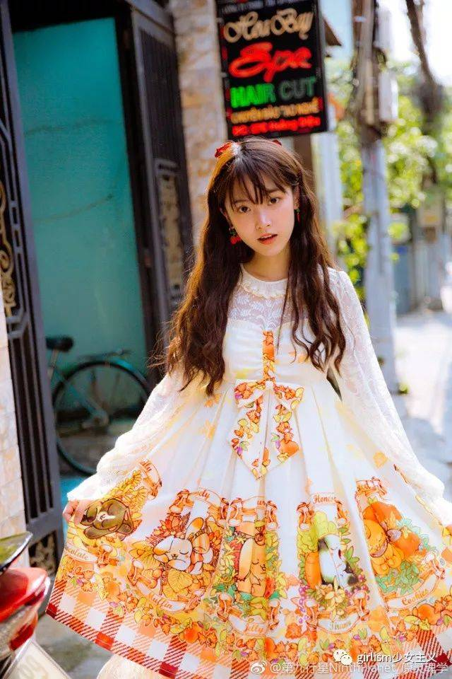 shirotori_lolita白鸟原创设计图片