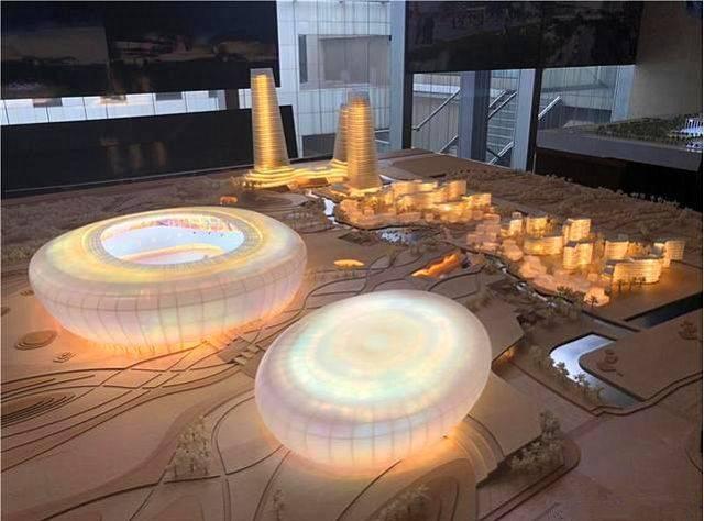 中国建筑西南设计研究院populousdesignptyltd(澳大利亚博普乐思)新万家字体设计图片