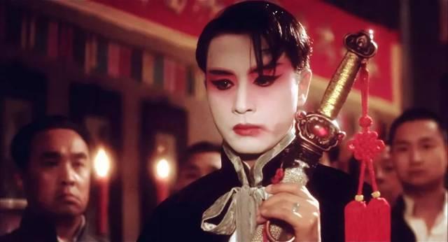 张国荣在《霸王别姬》里的演出让人见识到什么是完美表演.图片