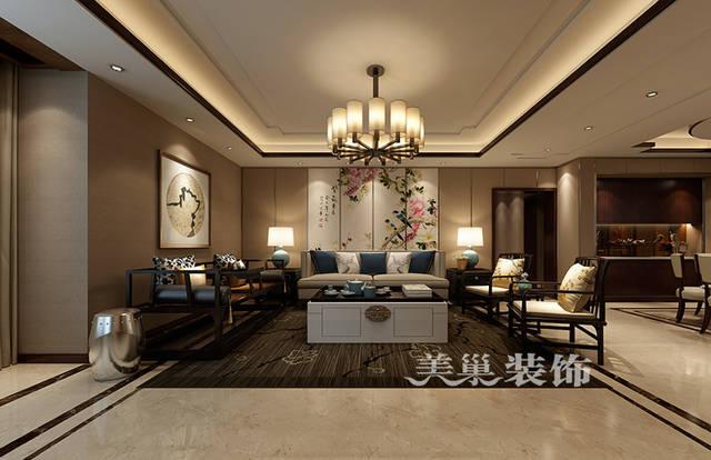 中式沙发背景墙图片
