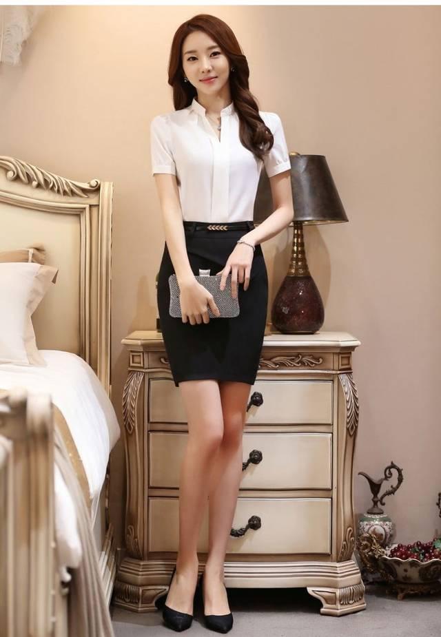 性感酒店制服模特!你最喜欢第几个?
