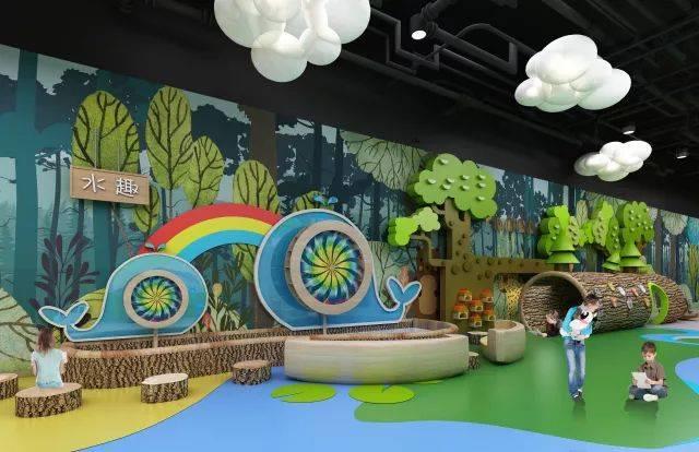建筑面积约为2000㎡,引进了先进的森林早教理念,以大自然为教室,利用图片