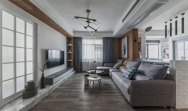兖州春都华府120平米-180平米的新房装修效果图-济宁路小七