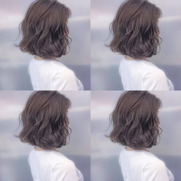 今年最火的烫发是纹理烫发,15款流行纹理烫短发,简单易打理又时尚