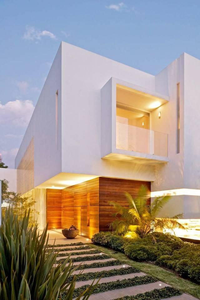 草坪灯光设计,光为笔,影为墨苏州别墅别墅带图片