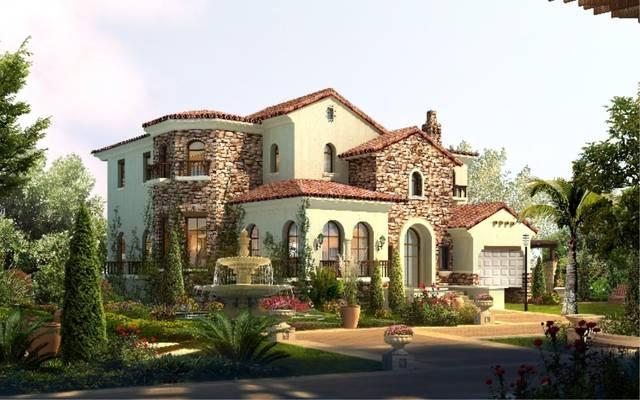 湛江小哥设计的农村别墅效果图,太靓了,真想拥有一幢图片
