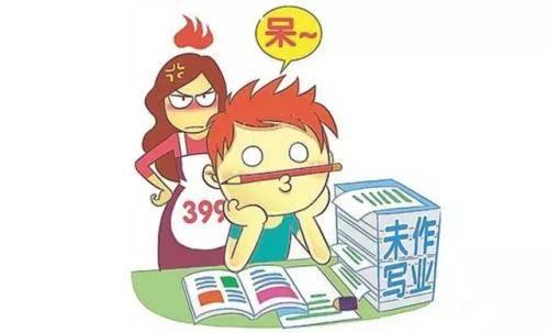 聪明父母在陪孩子作业时, 都做这5件小事!图片