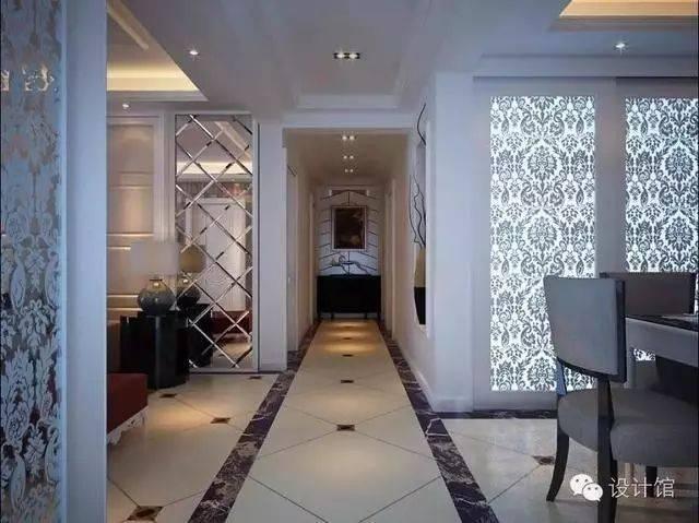 别人家的走廊地砖拼花,40款总有你喜欢的一款!