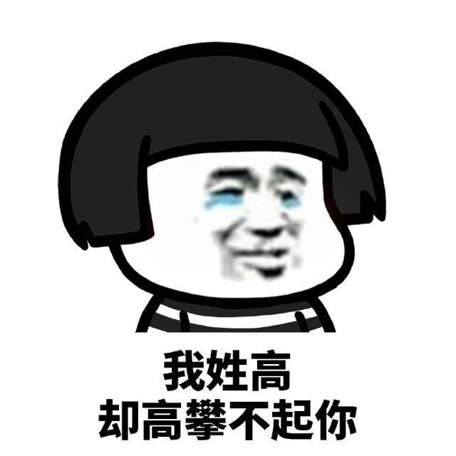 姓氏撩妹表情包:我姓李,却进不去你的心图片
