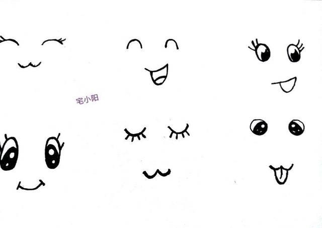 最喜欢闭着眼睛微笑那一张,超喜欢长睫毛的孩子.图片