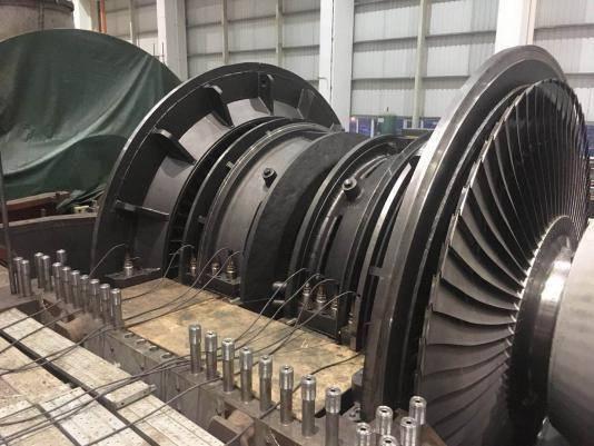 阳西电厂二期5,6号机组2×1024兆瓦工程燃煤机组汽轮发电机为世界最