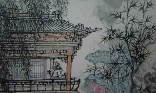 《春夜洛城闻笛》是唐代诗人李白创作的一首七言绝句.图片