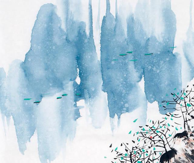 刘燕声现代山水画个性特征全面解读