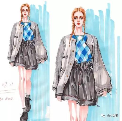 服装设计手绘教程