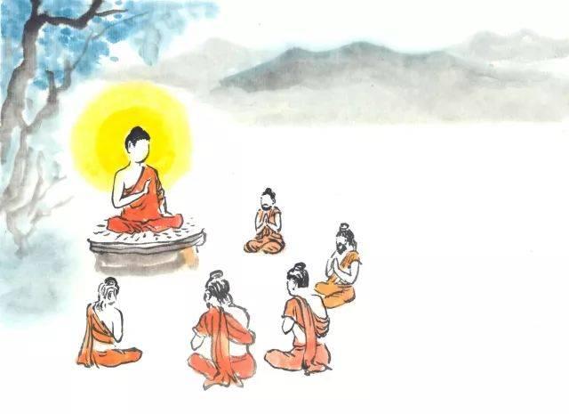 究竟是谁那么有福报,聆听了佛陀史上第一次讲法?图片