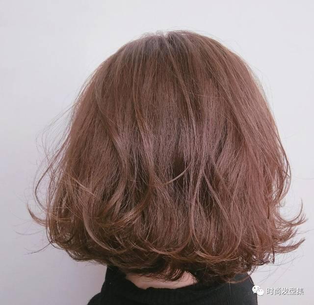 齐肩发纹理烫更是减龄必备的发型呦