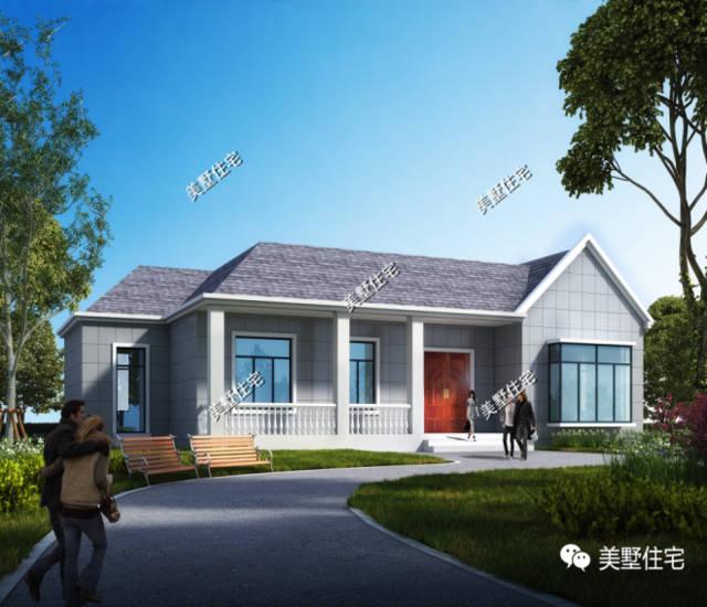 两款10万左右农村一层别墅,设计图+效果图,超细致介绍