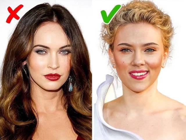深色头发,白皙明亮的皮肤:明亮的粉红色,红色,樱桃色和李子色.