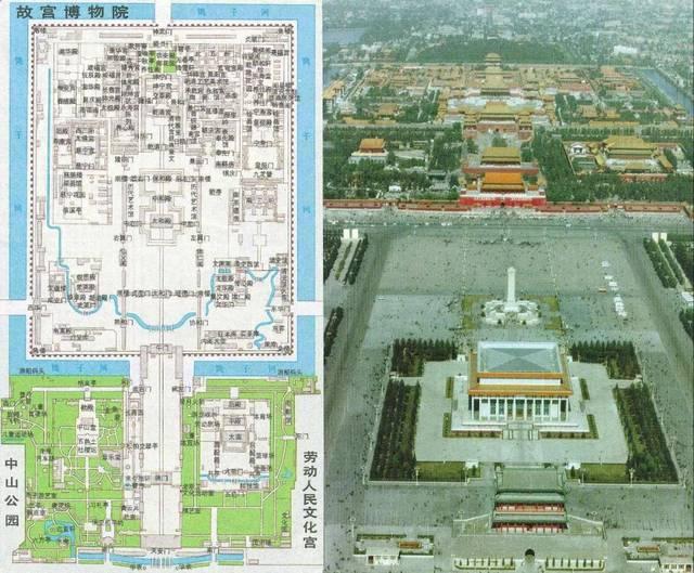皇家园林 1,故宫 1-故宫平面图