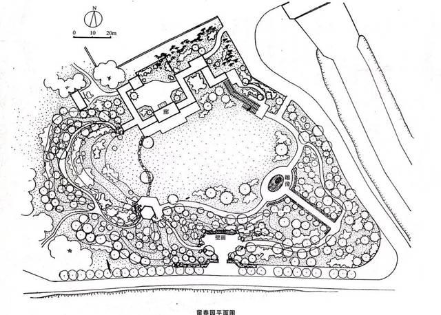设计干货丨北方实习经典园林平面图图片