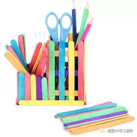 多款创意笔筒手工制作,让创意改变生活