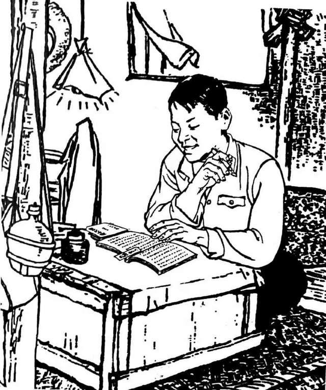 关于学雷锋的画_朱吉男版画 【雷锋画集】(11-12)集