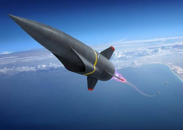 射�_洛克希德·马丁公司公布的空射高超声速巡航导弹概念图