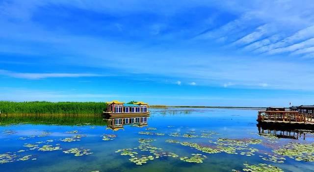 博斯腾湖景区