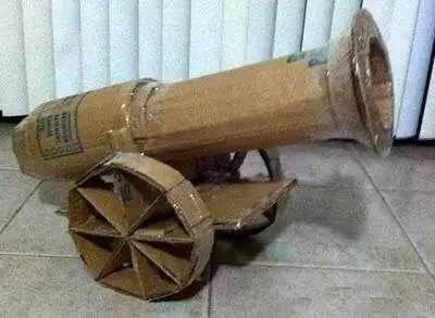 【军工手工】必须要带孩子做的手工——飞机,大炮,坦克.