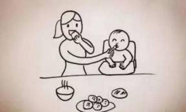 儿童画 简笔画 手绘 线稿 640_386