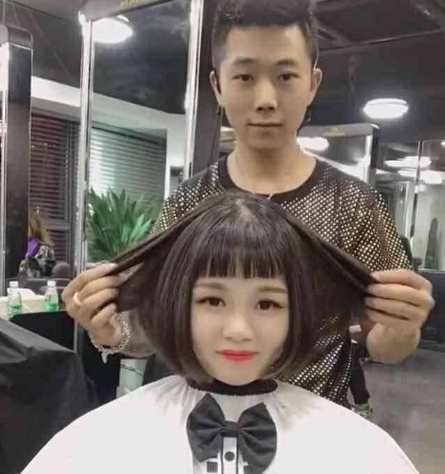 """看完之后,很多网友都表示:""""好想去剪头发了!图片"""